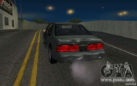 Ford Thunderbird 1993 for GTA San Andreas back view