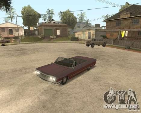 Extreme Car Mod (Single Player) for GTA San Andreas third screenshot