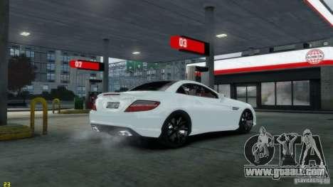 Mercedes-Benz SLK55 R172 AMG 2011 v1.0 for GTA 4 back left view