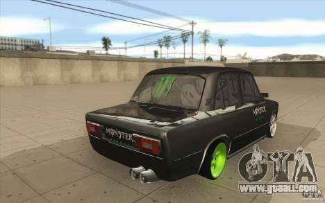 Vaz 2106 Lada Drift Tuned for GTA San Andreas side view