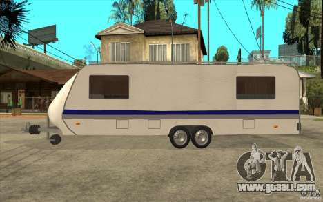 Trailer for the Renault Avantime for GTA San Andreas left view