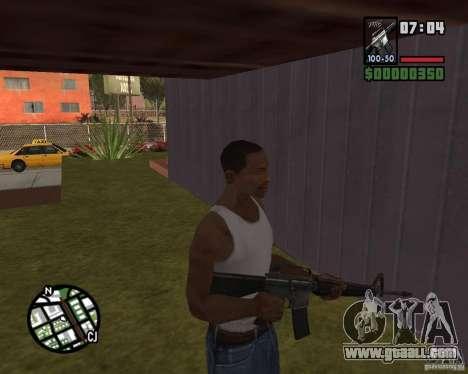 M16 for GTA San Andreas third screenshot