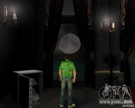 New water, newspapers, leaves, Moon for GTA Vice City forth screenshot
