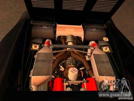 Ferrari 288 GTO for GTA San Andreas inner view