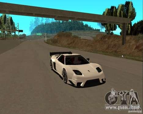 Acura NSX Sumiyaka for GTA San Andreas