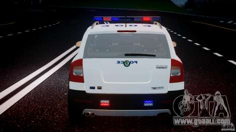Skoda Octavia Scout NYPD [ELS] for GTA 4 engine
