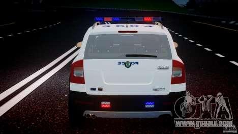 Skoda Octavia Scout NYPD [ELS] for GTA 4