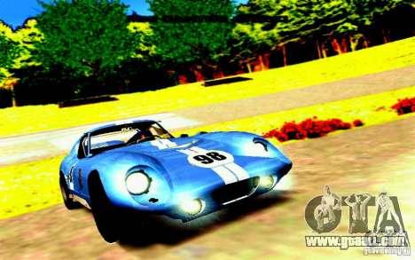 Shelby Cobra Daytona Coupe v 1.0 for GTA San Andreas left view