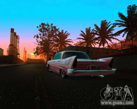 Plymouth Belvedere for GTA San Andreas back view