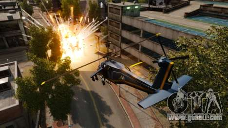 A helicopter with an RPG for GTA 4