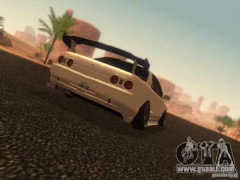 Nissan Skyline GTS R32 JDM for GTA San Andreas left view