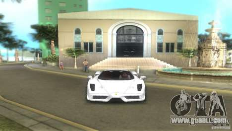 Ferrari Enzo for GTA Vice City back left view