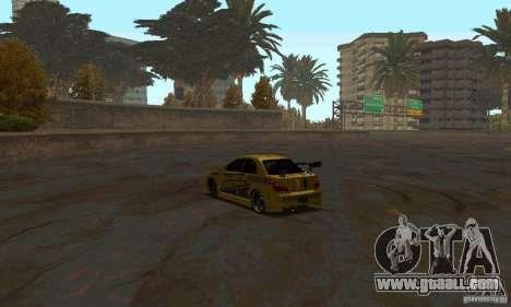 NFS Most Wanted - Paradise for GTA San Andreas ninth screenshot