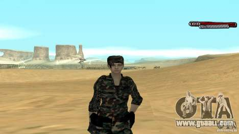 Soldier HD for GTA San Andreas