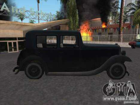 The vehicle of the second world war for GTA San Andreas right view