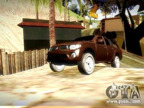 Mitsubishi L200 Stock for GTA San Andreas left view