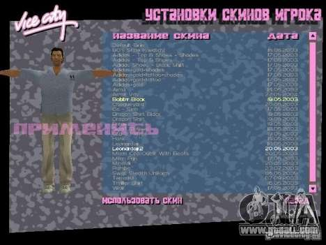 Pack of skins for Tommy for GTA Vice City third screenshot