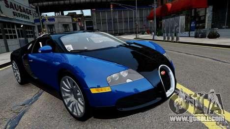 Bugatti Veyron 16.4 v1.0 wheel 2 for GTA 4 back left view