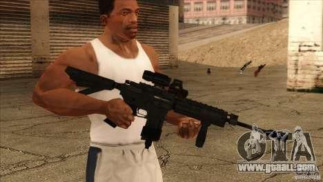 M4 heart rate sensor for GTA San Andreas second screenshot