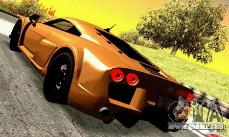 Noble M600 for GTA San Andreas right view