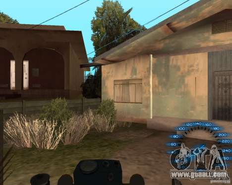 Behind the wheel for GTA San Andreas forth screenshot