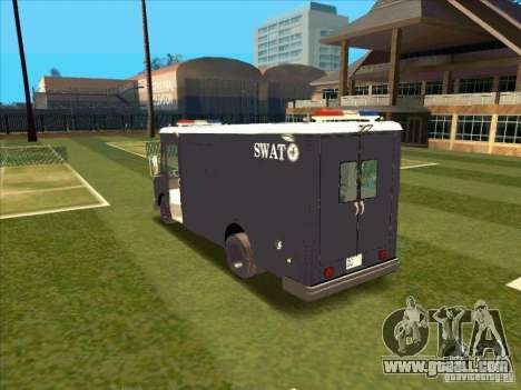 Swat Van from L.A. Police for GTA San Andreas right view