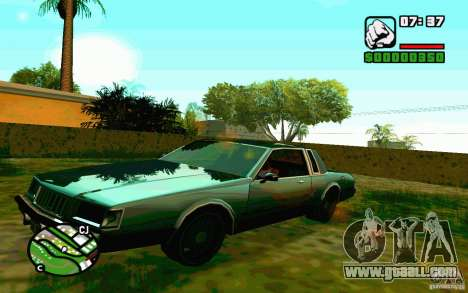 ENBSeries by Blaid for GTA San Andreas second screenshot