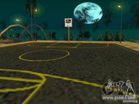 New basketball court for GTA San Andreas forth screenshot