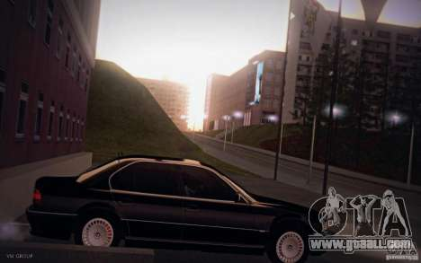 BMW 750i E38 2001 for GTA San Andreas left view