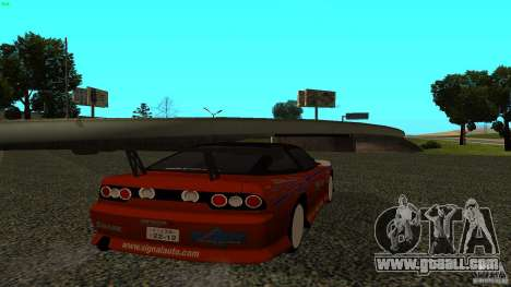 Nissan 240SX Signal Auto for GTA San Andreas left view