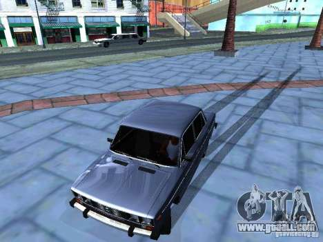 VAZ 2106 for GTA San Andreas upper view