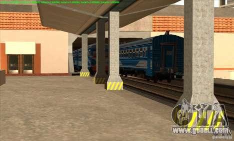 Increase in traffic of trains for GTA San Andreas third screenshot