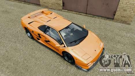 Lamborghini Diablo SV 1997 v4.0 [EPM] for GTA 4 interior