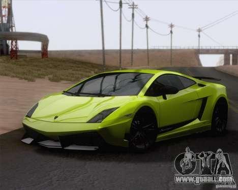 Lamborghini Gallardo LP570-4 Superleggera 2011 for GTA San Andreas