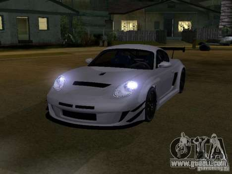 Porsche Cayman S NFS Shift for GTA San Andreas left view