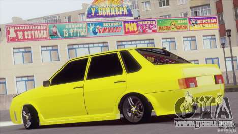 VAZ 21099 Sports for GTA San Andreas back left view