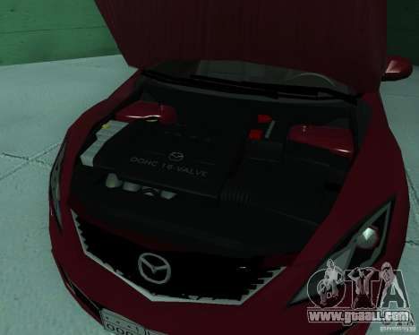 Mazda 6 2010 for GTA San Andreas right view