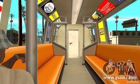 Liberty City Train GTA3 for GTA San Andreas right view