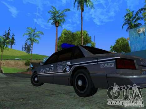 Lumpkin Country Sheriffs Office for GTA San Andreas inner view
