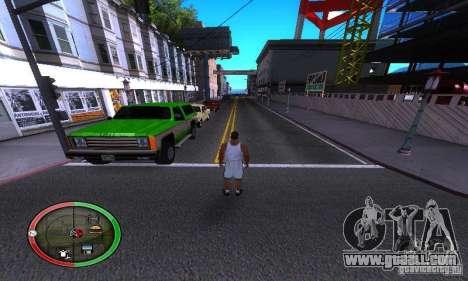 NEW STREET SF MOD for GTA San Andreas third screenshot