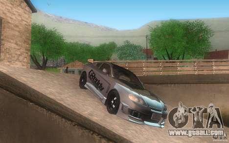 Hyundai Tiburon V6 Coupe tuning 2003 for GTA San Andreas back left view