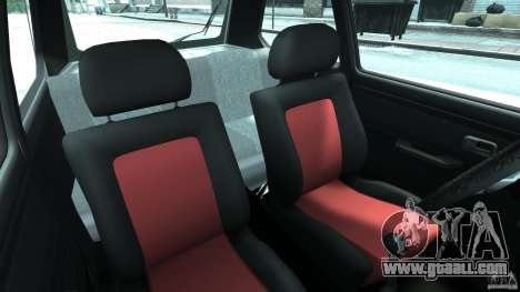 Volkswagen Golf Mk1 Stance for GTA 4 inner view