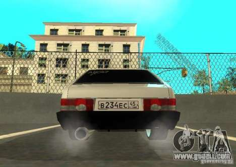 Vaz 2109 AK-47 for GTA San Andreas side view