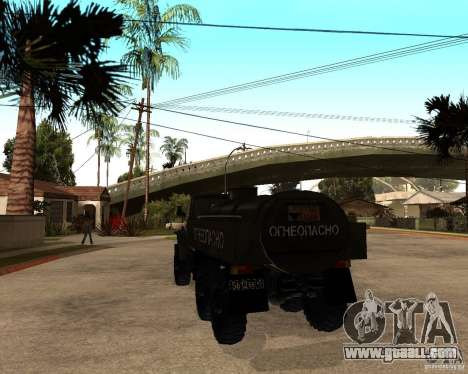Ural 4320 Truck for GTA San Andreas right view