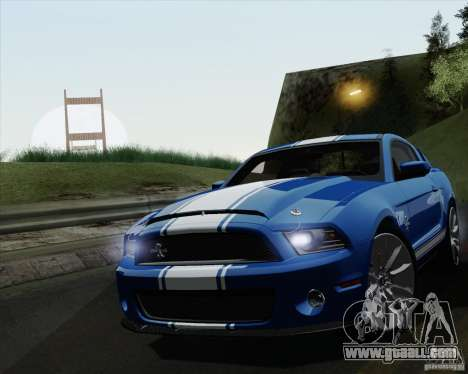 Ford Shelby GT500 Super Snake 2011 for GTA San Andreas
