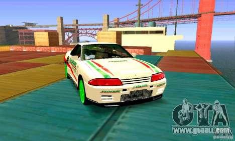 Nissan Skyline GT-R32 BadAss for GTA San Andreas