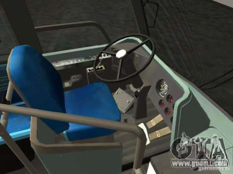 GMC RTS MTA New York City Bus for GTA San Andreas back view