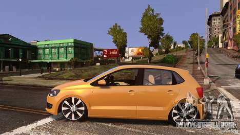 Volkswagen Polo for GTA 4 left view