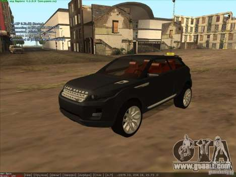 Land Rover Freelander for GTA San Andreas