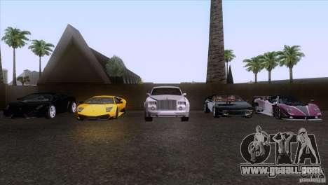 Rolls Royce Phantom Hamann for GTA San Andreas engine